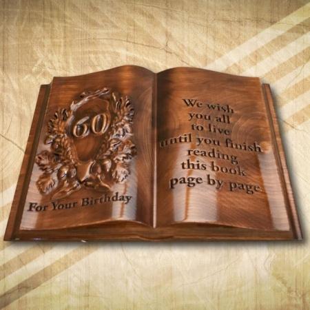 60. születésnapi faköny angol