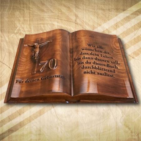 70. születésnapi fakönyv