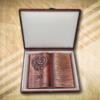 30. házassági évfordulóra egyedi fakönyv-Mívesfa