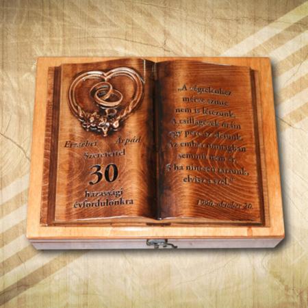 30. házassági évforduló| gyöngylakodalom-Mívesfa