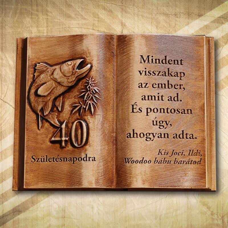 idézetek ajándék könyvbe Egyedi fakönyvek Termékkategória   Mívesfa