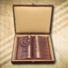 50. házassági évfordulóra egyedi fakönyv