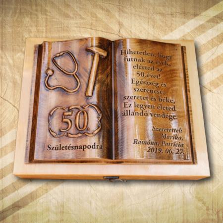 50. születésnapra ezermestereknek