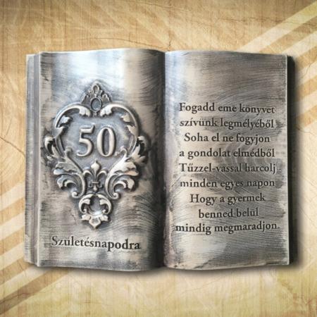 50. szülinapi fakönyv vintage