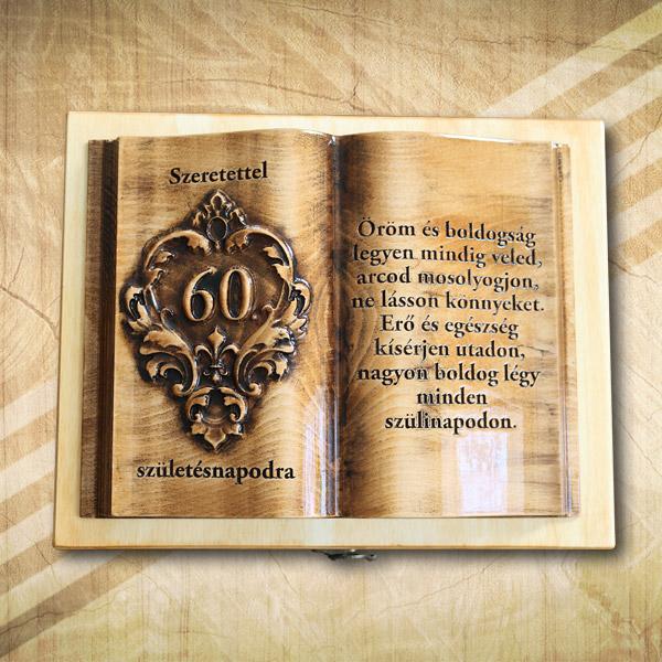 60. szülinapi fakönyv Ofényes