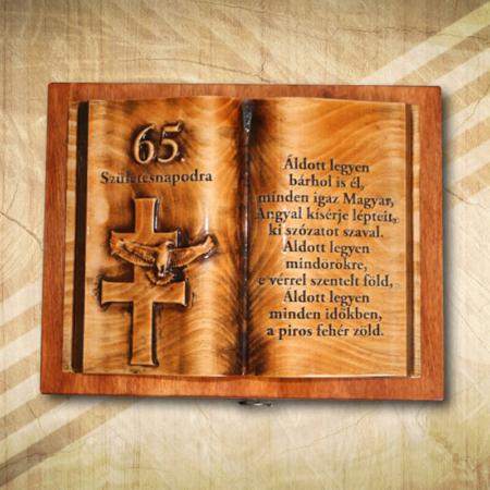 Magyaros ajándék 65. születésnapra-Mívesfa