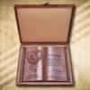 70. házassági évfordulóra fakönyv díszdobozzal