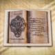 70. születéenapi ajándék fakönyv