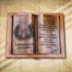 70. születésnapra ajándék fakönyv Nagymamának
