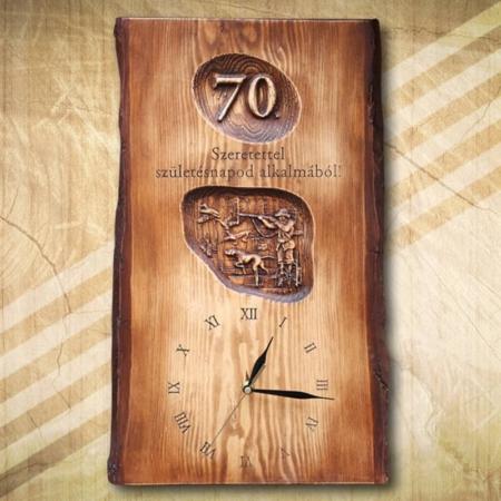 Ajándék vadásznak 70. születésnapra