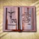 70. születésnapra egyedi fakönyv
