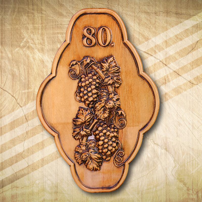 80. születésnapi fatábla