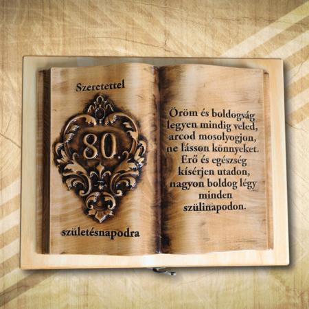 80. szülinapi fakönyv öregfenyo