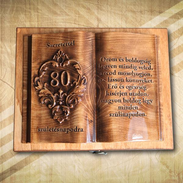 80. szülinapi fakönyv teakf