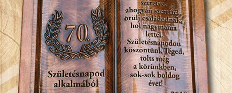Mívesfa egyedi fakönyvek