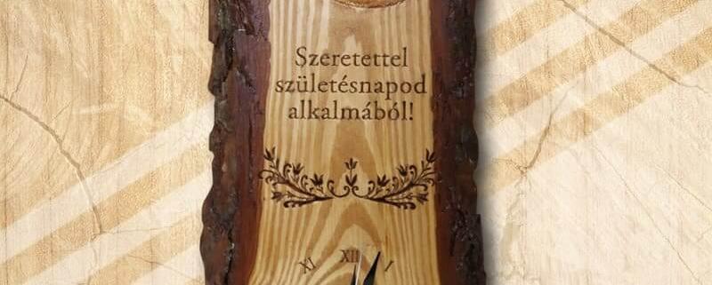 Mívesfa klasszikus faliórák