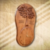 Életfa különleges falióra - Mívesfa
