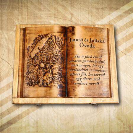 Fakönyv óvodai ballagásra-Mívesfa