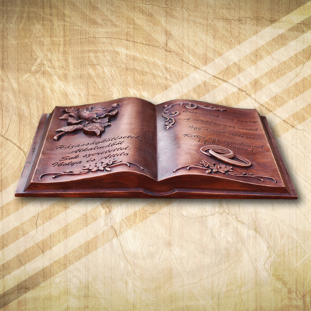 Esküvői fakönyv