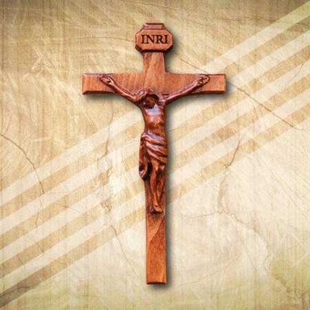 Fa kereszt vallási kegytárgy