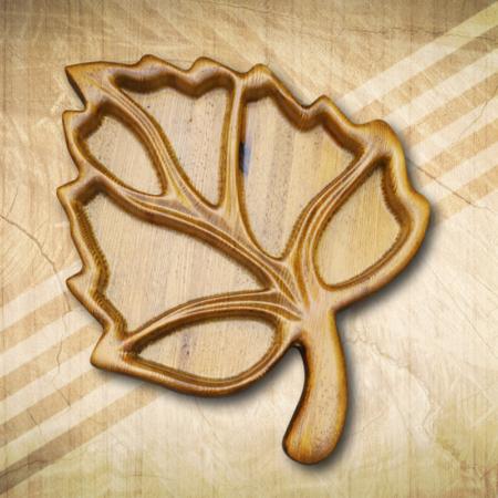 Kínáló tálca fából 6 részes