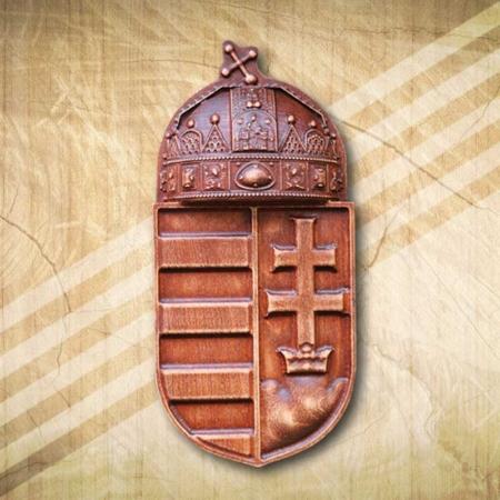 Magyarország címere kültéri 50 cm