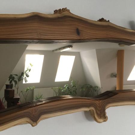 Olajfűz keretben tükör