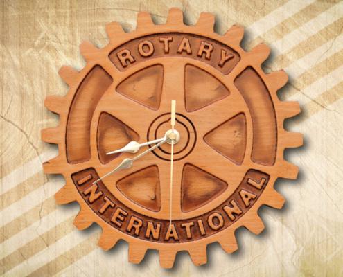 Rotary ajándék falióra