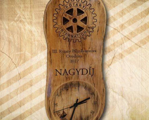 Rotary pálinkamustra első díj